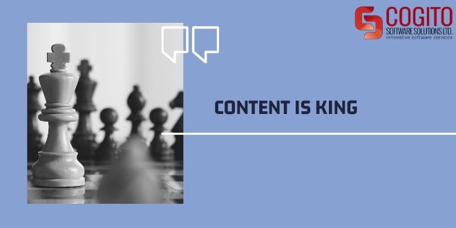 content writing guide content is king