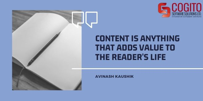guide to content writing content value