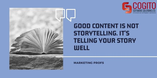 guide to content writing good content storytelling