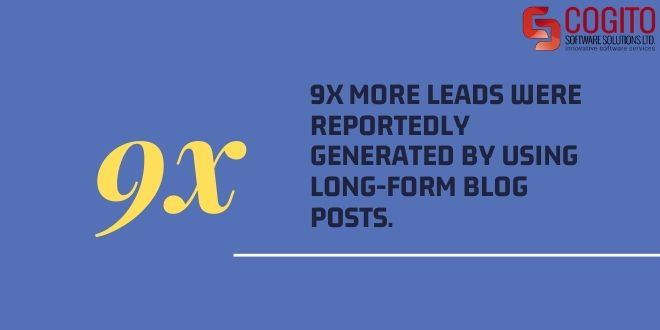 guide to content writing statistic leads blog posts
