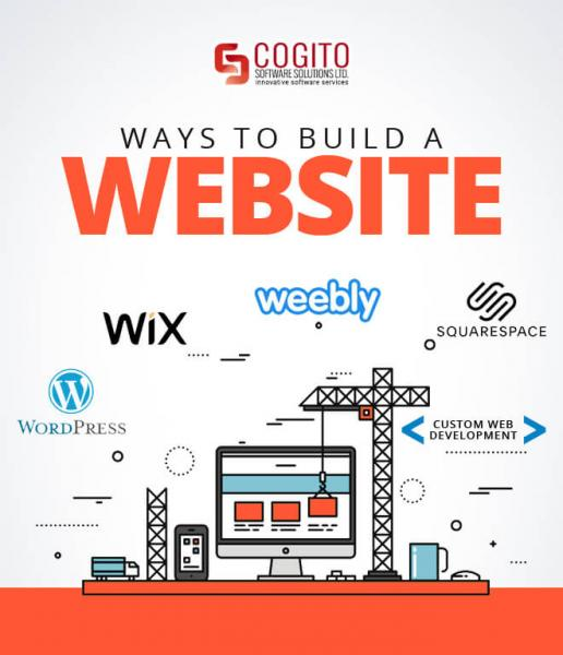 ways to build a website